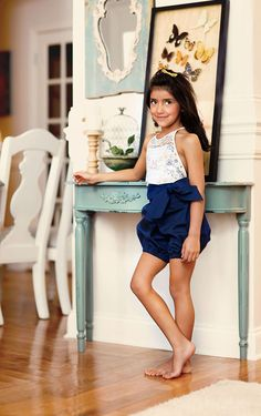 Haven Bubble Shorts Romper and Dress Sewing Pattern | Violette Field Threads