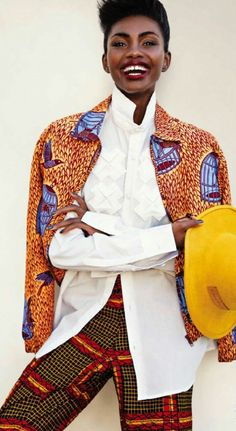Print Culture ~African fashion, Ankara, kitenge, African women dresses, African prints, African men's fashion, Nigerian style, Ghanaian fashion ~DKK