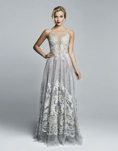 Dove gray gown ♥