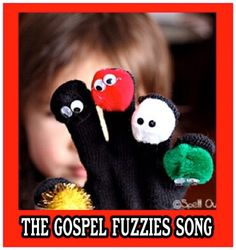 The Gospel Fuzzy song comes from the concept of the Wordless Book and your kids will delight in learning about the gospel from these 5 fuzzy friends!