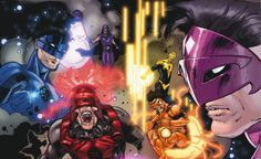 Kyle Rayner: Master of the Emotional Spectrum Blue Lantern, Green Lantern Corps, White Lanterns, Dc Comics Heroes, Fun Comics, Comics Universe, Marvel Vs, Comic Art, Character Art
