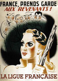 Henri Cerutti. France, beware of the ghosts! 1944