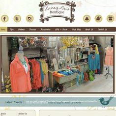 Laney Lu's Boutique - Online Store WordPress Website, Blog and Shopping Cart