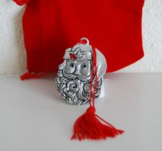 Avon Pewter Christmas Ornament...Dated 2012...$12.99