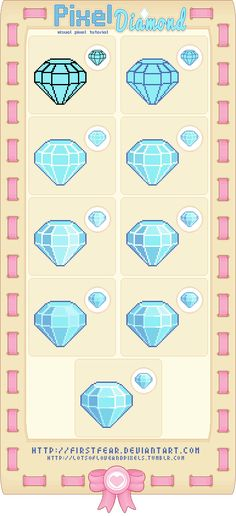 Tutorial - Pixel Diamond by firstfear on DeviantArt