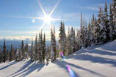 silver star ski resort, canada 2011