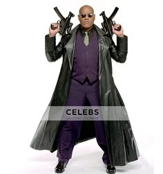 #Morpheus #TheMatrix Laurence Fishburne Alligator #Coat