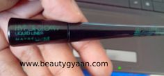 Maybelline Hyper Glossy Liquid Liner Review  Read full Review here  http://beautygyaan.com/index.php/maybelline-hyper-glossy-liquid-liner-review/