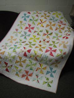 Heather Bailey Pinwheel Quilt