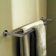Motiv 0222-24 Sine 24 Double Towel Bar.  $142.10. Middle bathroom. Use w/ 2 hooks for hand towels.