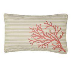 Pescador Coral Decorative Pillow, Pink