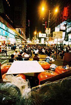 Umbrella Revolution, Hong Kong