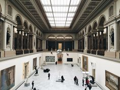 Royal Museum of Fine Arts in Brussels, Belgium.