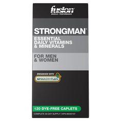 Fusion Bodybuilding Strong Man   Multi Vitamin - Supplement Superstore Supplement Superstore, Universal Nutrition, Multi Vitamin, Daily Vitamins, Key Ingredient, Amino Acids, Vitamins And Minerals, Physical Activities, Pills