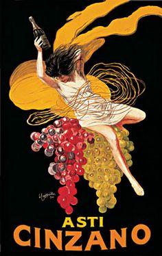 Cartel de Leonetto Cappiello para la marca Cinzano.