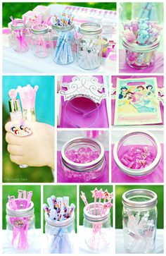 Disney Princess Party Treat Bags filled with all of the essentials #DreamParty #shop