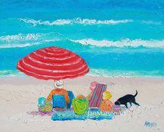 Beach art #bathroomart #beachart #coastaldecor