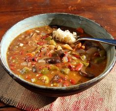 Fat-Free Vegan Gumbo    Prep time 15 mins Cook time 30 mins Total time 45 mins   Author: Holy Cow! Vegan Recipes Cuisine: Louisian...
