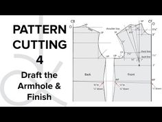 Pattern Cutting - Flat Pattern Drafting, the Bodice Block part 1 - YouTube