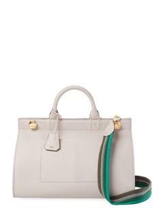 Ephson Large Leather Satchel from Designer Handbag Shop: Perfect Carryalls on Gilt