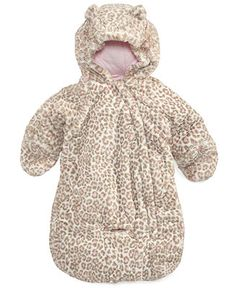 Carter&39s Baby Outerwear Baby Girls Dot-Print Pram Bag   All for