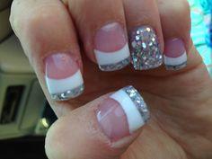 My new Glitter nails :-)