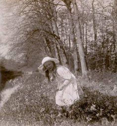 Foto Prinses Juliana in het fluitenkruid