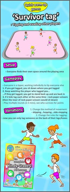Kindergarten to Grade 2 PE Games - Complete Sport Skill and Games Pack 2018 - Physical Education Games - Team Games For Kids, Outdoor Games For Kids, Kids Gym Games, Indoor Games, Fitness Games For Kids, Abc Games, Outside Games For Kids, Kids Fitness, Counting Games