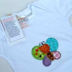 APPLIQUED T SHIRTS $15.00    Funky and fun and oh so very cute, just perfect for Spring.    These little T Shirts are beautifully made and sure to delight.    Supplier : Gerties Handmade