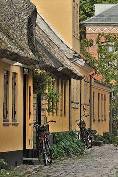 Dragor Lane with Bikes, Denmark   Flickr - Photo Sharing!