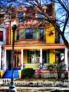 Colorful House - HDR by tuckedllc, via Flickr