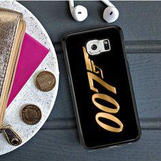 James Bond 007 Gold Samsung Galaxy S6 Edge Case