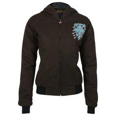 Cowgirl Hardware INC Women's Rhinestone Cross Jacket
