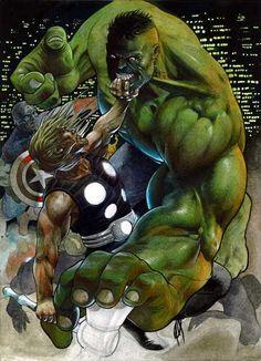 """#Hulk #Fan #Art. (""""Immortal Weapons!!!"""") By: Arturo Lozzi. (THE * 5 * STÅR * ÅWARD * OF: * AW YEAH, IT'S MAJOR ÅWESOMENESS!!!™) ÅÅÅ+"""