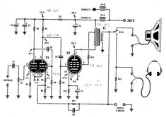 Schematic diagram of single-tube transmitter design by