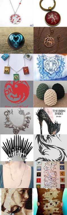Game of Thrones LUV by Hookin' to the Beat on Etsy (www.facebook.com/hookintothebeat)