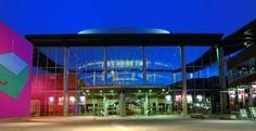 milton keynes - Google Search Milton Keynes, Train Station, Marina Bay Sands, Theatre, Fair Grounds, Public, Building, Modern, Travel