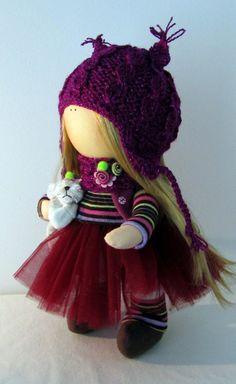 doll Annabell by NICEDOLLSANDRABBITS on Etsy ♡