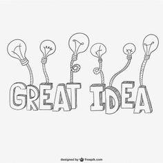 Great ideas lettering