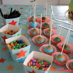 The Muscular System - Tricks of healthy life Wilton Candy Melts, Cakepops, Muscular System, Partys, Birthday Decorations, Healthy Life, Sweets, Desserts, Food