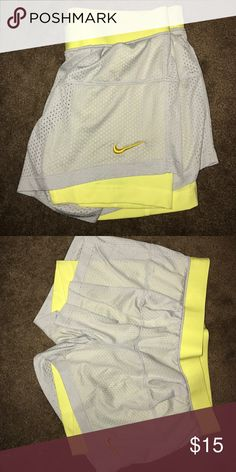Nike shorts Brand new, never worn Nike shorts with the spandex built in Nike Shorts