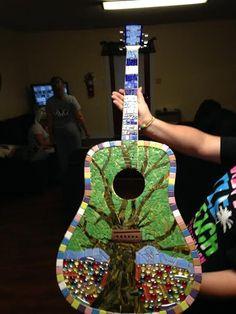 mosaic guitar - Google Search