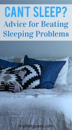Beating sleeping problems will take time. By making sleep a priority, your health, your wellbeing, and your life will improve. Ways To Sleep, How To Sleep Faster, How To Get Sleep, Good Night Sleep, Sleep Better, Sleep Well, Why Cant I Sleep, Trying To Sleep, Insomnia Causes