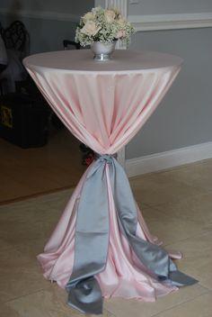 planche inspiration mariage rose gris déco table nappe
