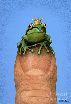 Thumb Prince... Painting by Will Bullas - Thumb Prince... Fine Art Prints and Posters for Sale