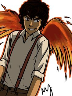 Leo with wings...........I have no idea what this is for or anything I just like it