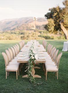 rustic California al fresco table setting Wedding Dinner, Wedding Film, Wedding Reception, Wedding Ideas, Dream Wedding, Wedding Tables, Wedding Catering, Wedding Goals, Italy Wedding