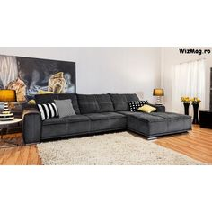 Coltar extensibil din stofa Isabela Couch, Furniture, Home Decor, Settee, Decoration Home, Room Decor, Sofas, Home Furnishings, Sofa