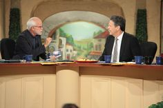 """Pastor Jim discussing the importance of owning and reading William Koenig's book """"Eye to Eye."""" #JimBakkerShow #Israel"""