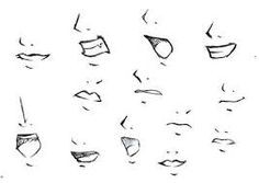 How To Draw Anime Mouths Female